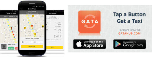 Book Your Cab Here- GATA App