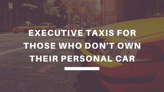 executive taxi services